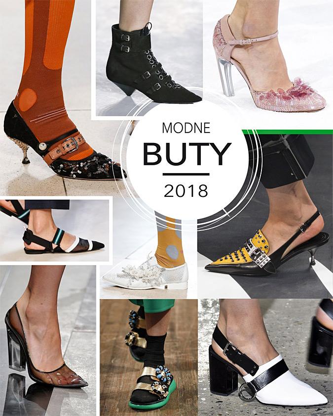 Modne buty wiosna-lato 2018