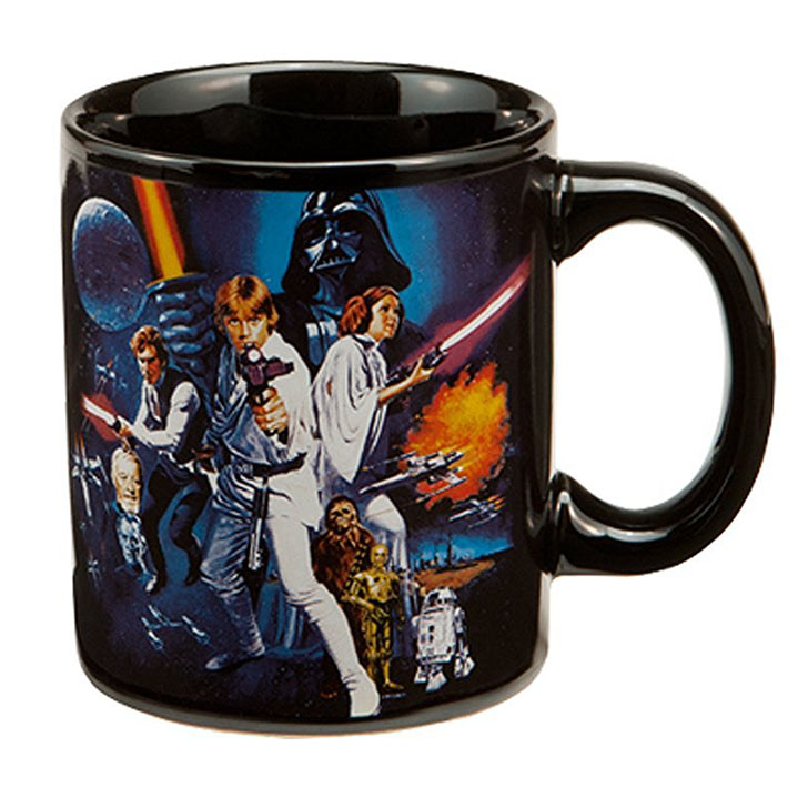 Vandor Star Wars A New Hope Ceramic 12 oz. Coffee Mug