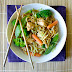 Hoisin Rice Noodles with Chicken, Shrimp or Tofu
