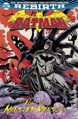 BATMAN: DIE NACHT DER MONSTER-MENSCHEN | DC REBIRTH | PANINI-VERLAG