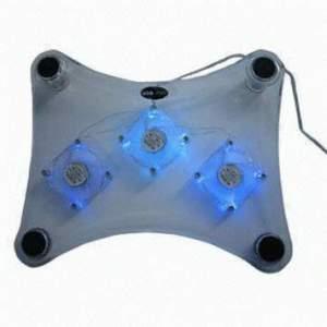 Cooling Pad 3 Fan Acrylic