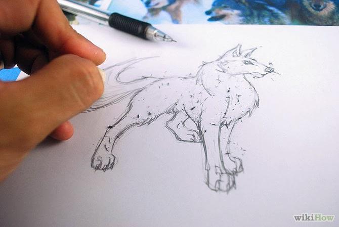 Cómo Dibujar A Lápiz Guía Máxima: Como Dibujar Lobo Anime: Dibujo Lobo Anime