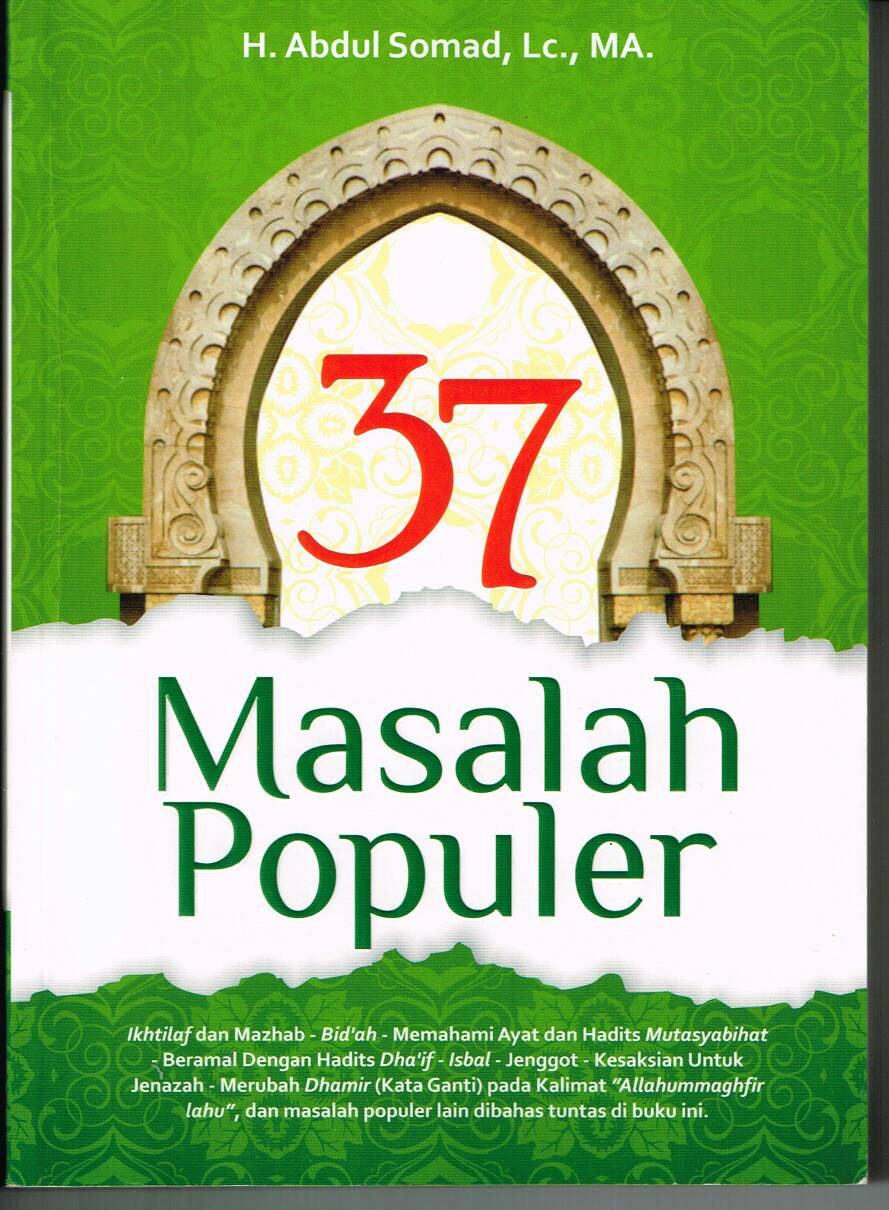 Ebook Ustadz Abdul Somad 37 Masalah Populer PDF - Tedi Sobandi