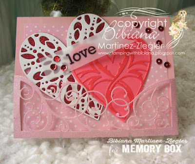 valentine's pocket card front view