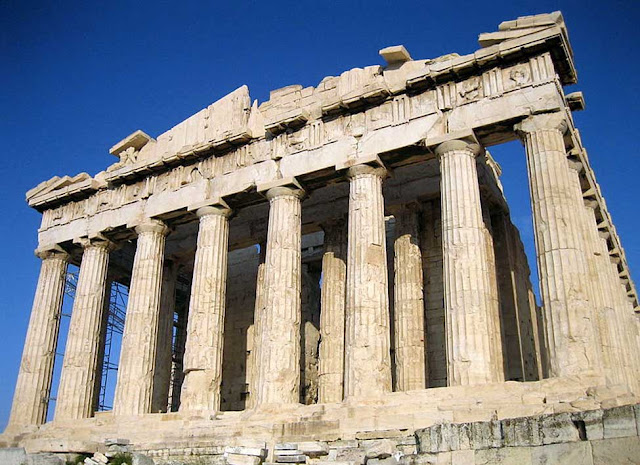 """Temple of Parhenon"" at the Athens - from ancient Greek, circa 447-438 BC"