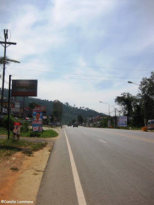 Main road in Khao Lak, December 2012