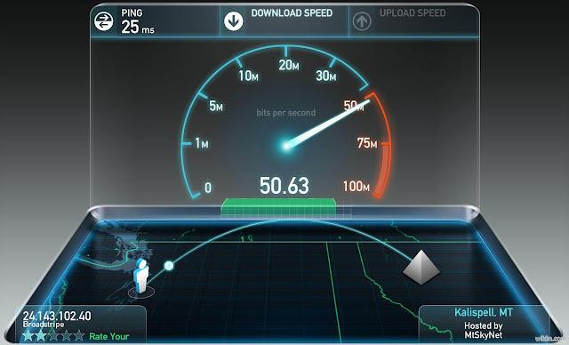 سرعة-الانترنت