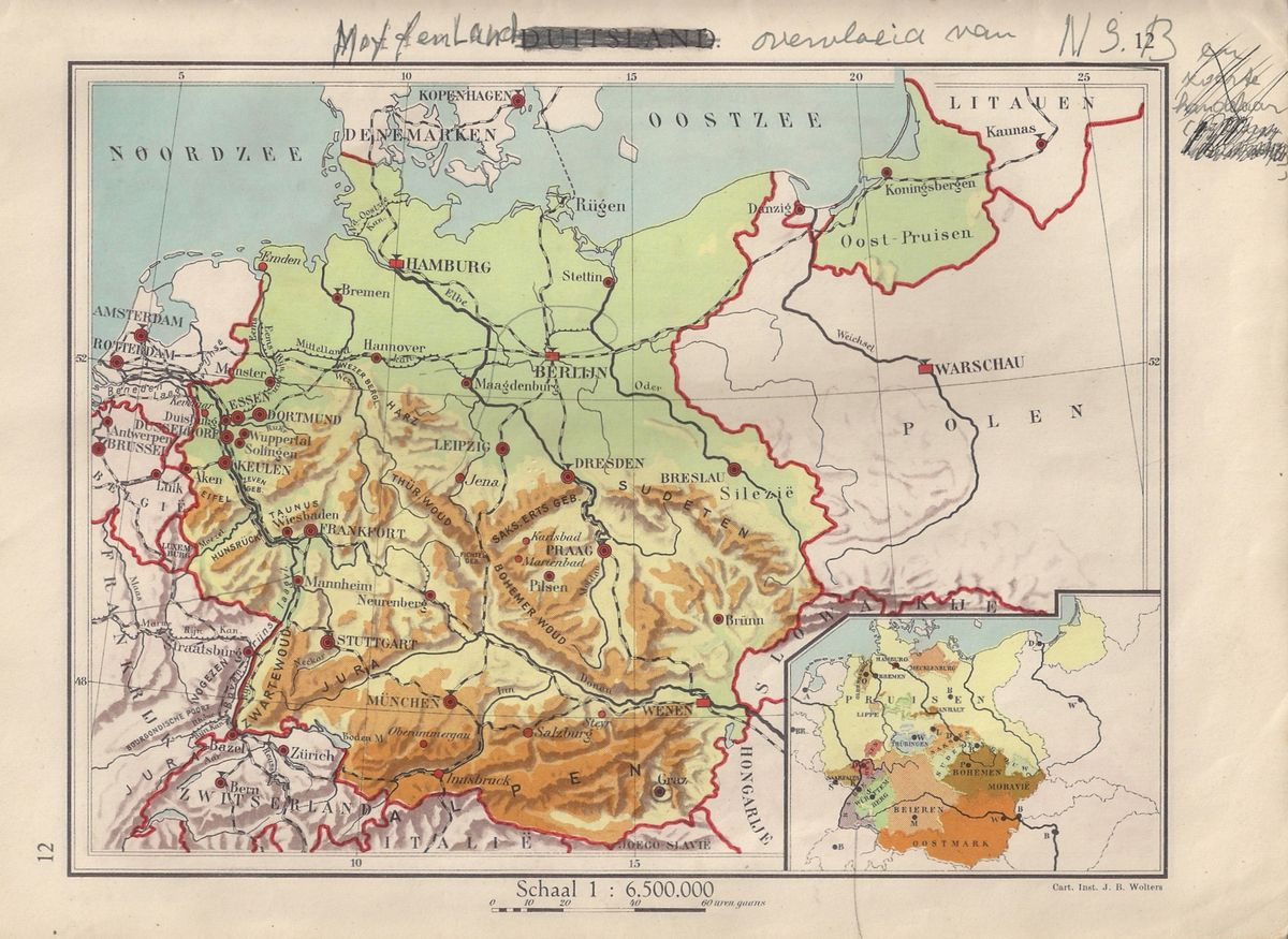 Map Of Germany 1939.Online Maps Germany 1939