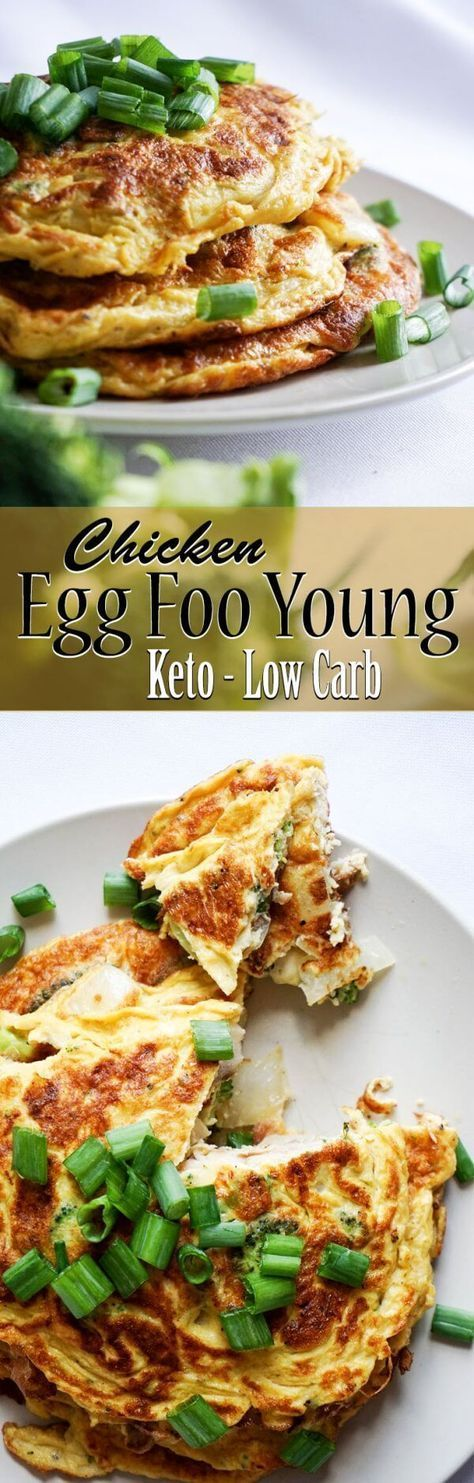 CHICKEN EGG FOO YOUNG KETO/LOW CARB