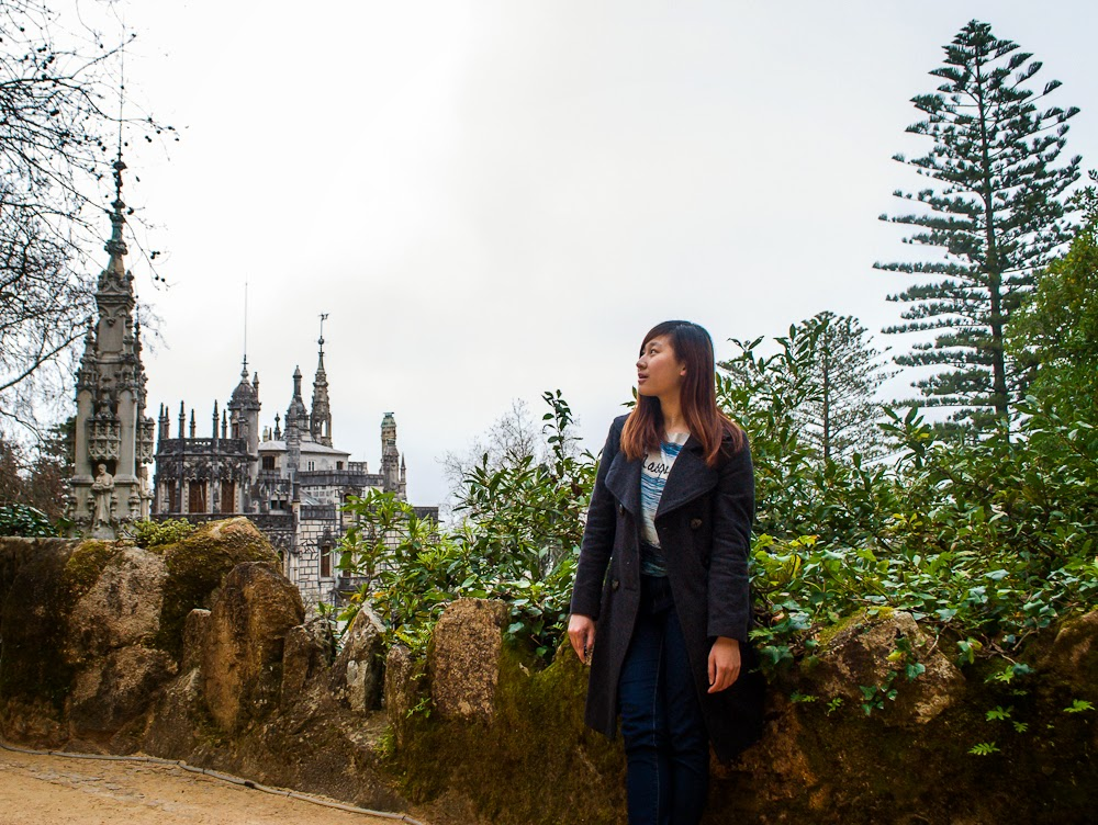 Quinta da Regaleira Sintra Portugal and outfit of the day