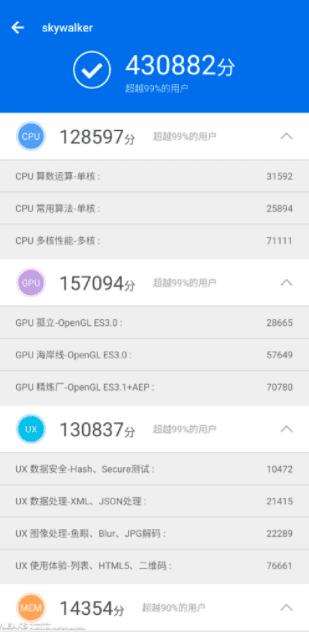 الهاتف Xiaomi Black Shark 2 يحقق أكثر من 400 ألف نقطة على AnTuTu