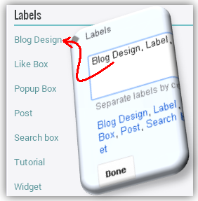 How To Make Post Label, Categories, Tag In BlogSpot Blog