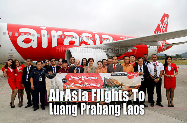 Luang Prabang Air Asia Flights