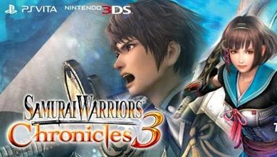 Samurai Warriors Chronicles 3 CIA 3DS