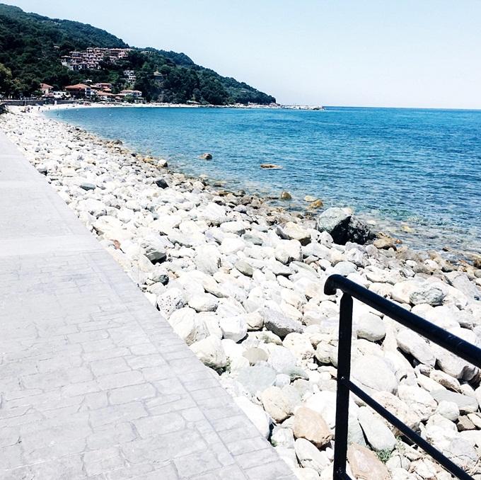 Jelena Zivanovic Instagram.Agios Ioannis Volos Pelion.