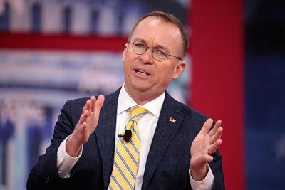 Mulvaney dice que nunca verán las declaraciones de impuesto de Trump