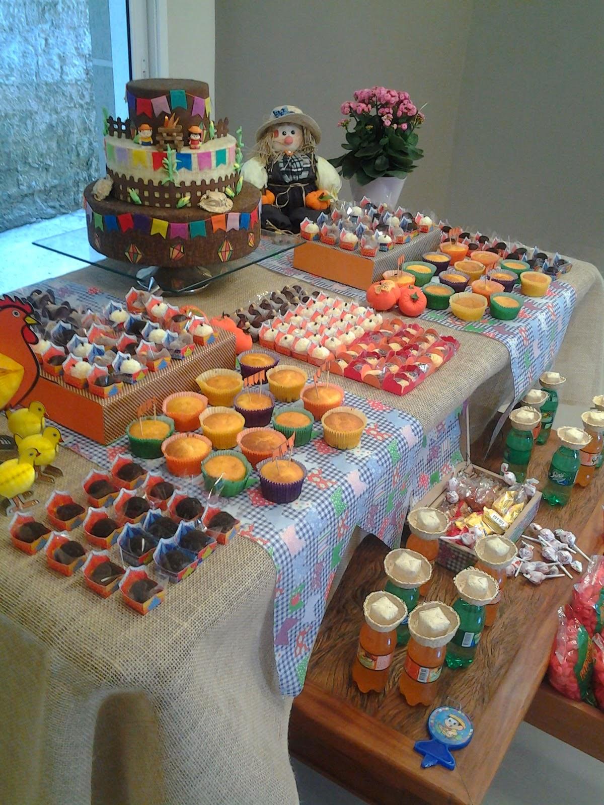 fe377e1264466 Vida de Menina  Aniversário com tema festa junina