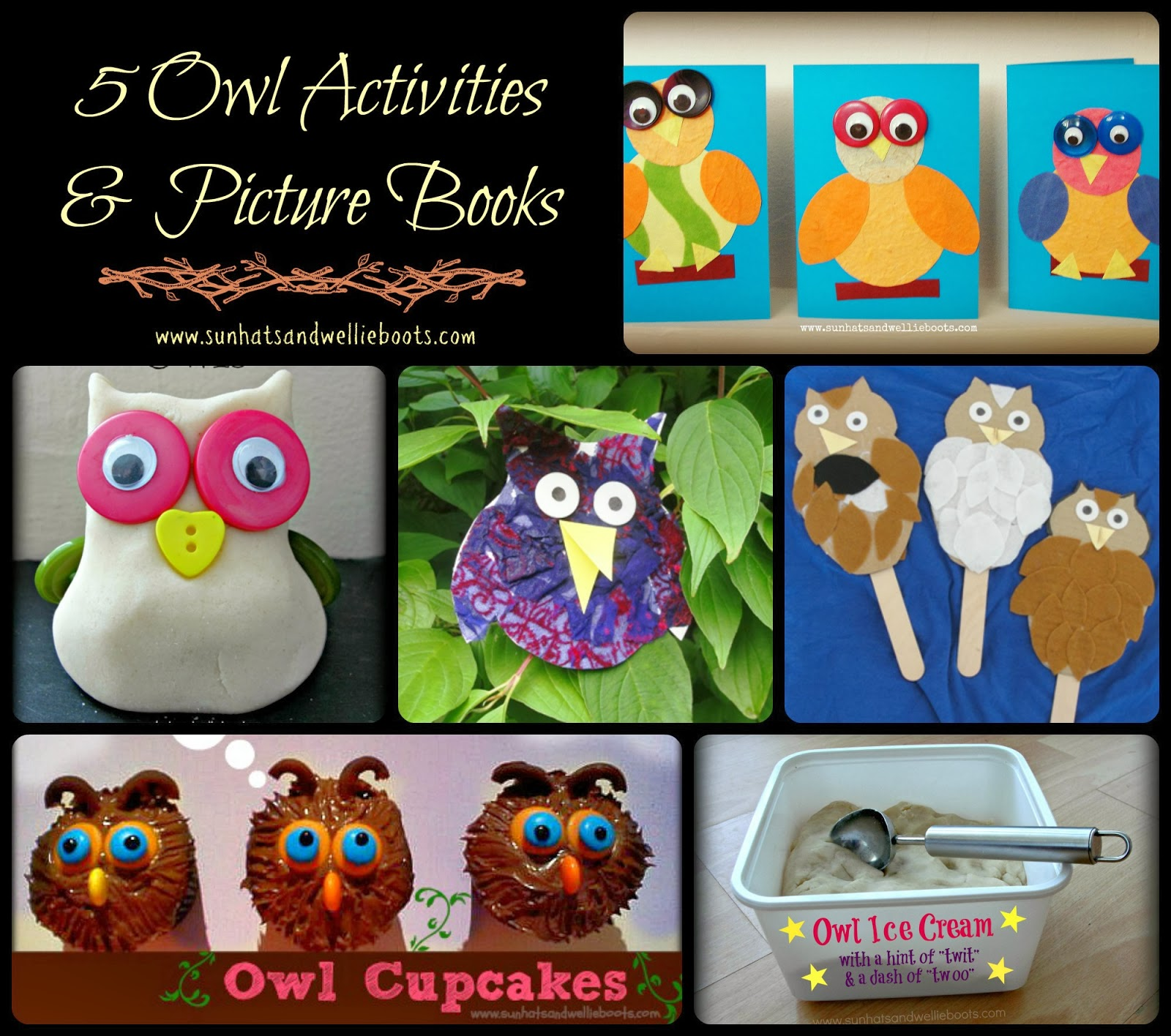 Sun Hats Amp Wellie Boots All About Owls