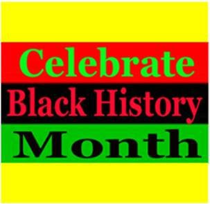 Celebrate Black History Month logo