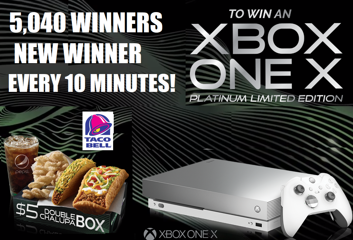 TACO BELL XBOX FREE CODE