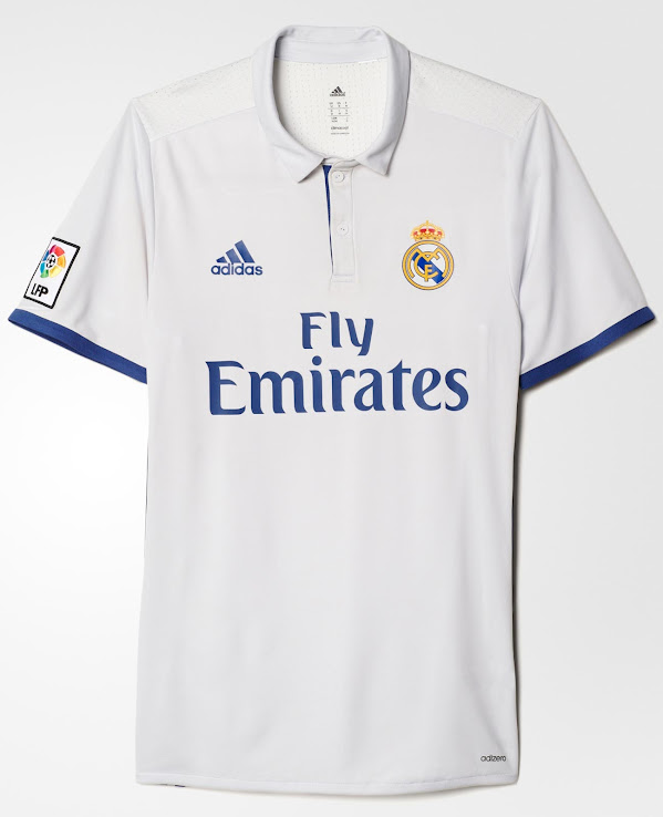 56af9bbe4 Real Madrid 16-17 Home Kit Released - Footy Headlines