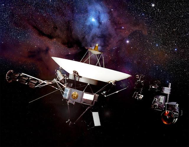 Voyager 1 espaço interestelar mensagem