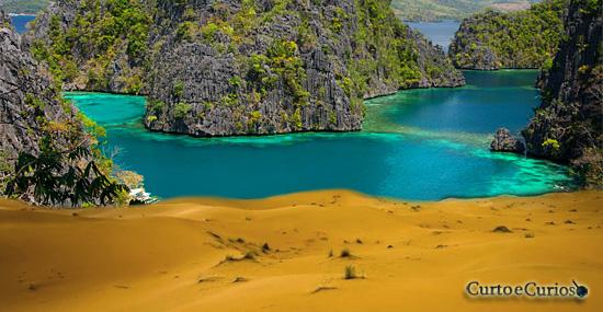Enterrando tudo: Essas ilhas paradisíacas estão sumindo sob a areia
