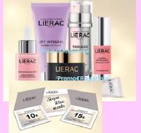 Logo Lierac : sconto del 25% subito e vinci sempre un buono sconto da 10€ o 15€ !