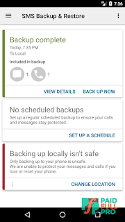SMS Backup And Restore Mod APK