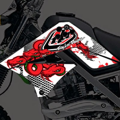 klx metal mulisha bengkeldecal.com