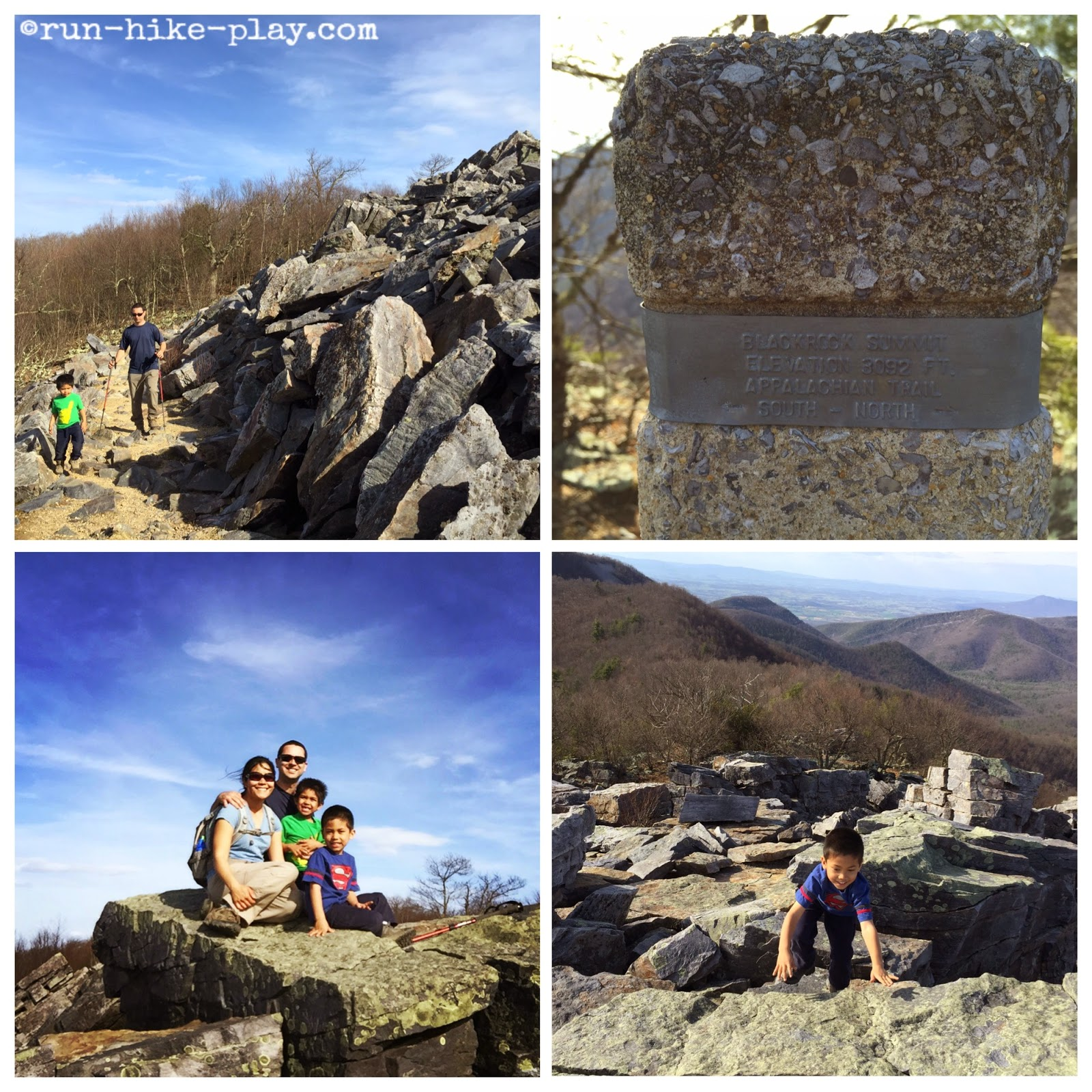 Shenandoah National Park Blackrock Summit