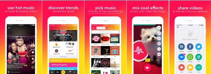 apple apps musical ly