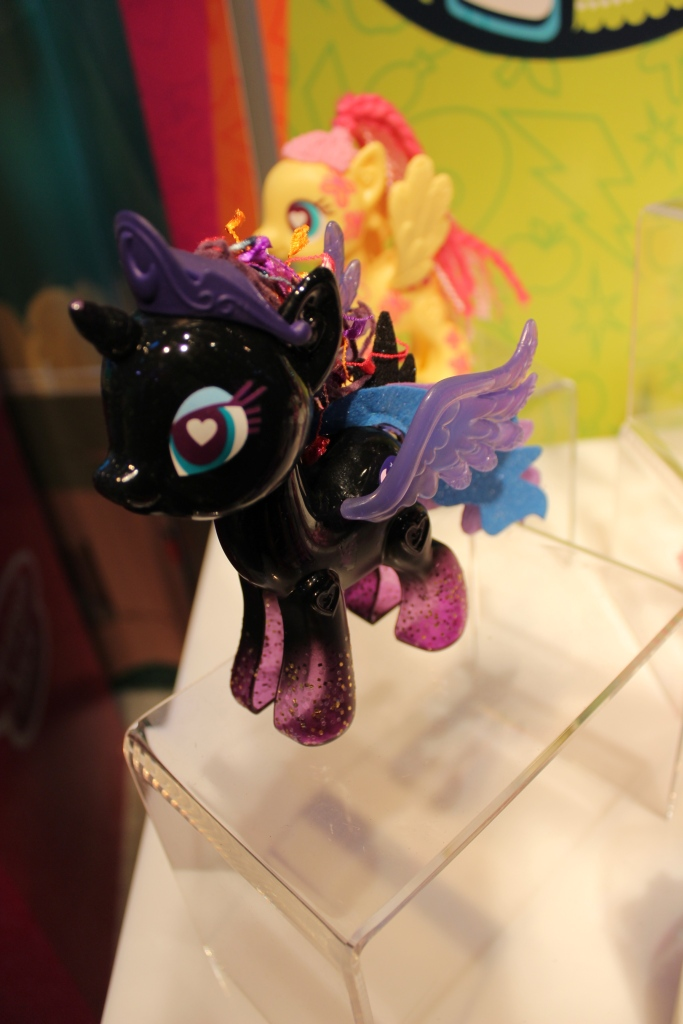 Black Princess Luna POP Pony at NY Toy Fair 2015