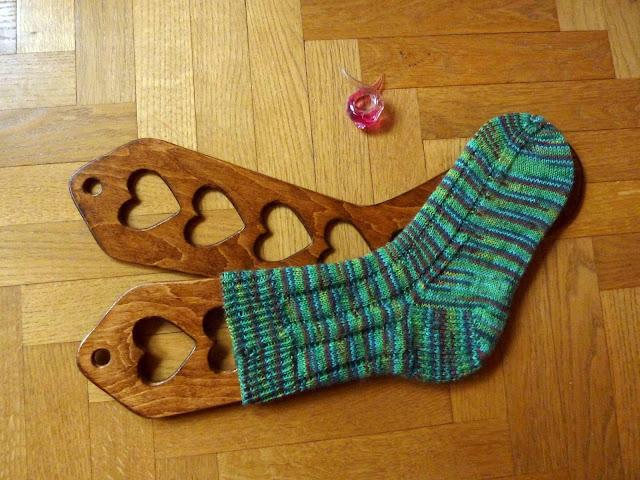 Chaussette tricotée taille Homme 39-40