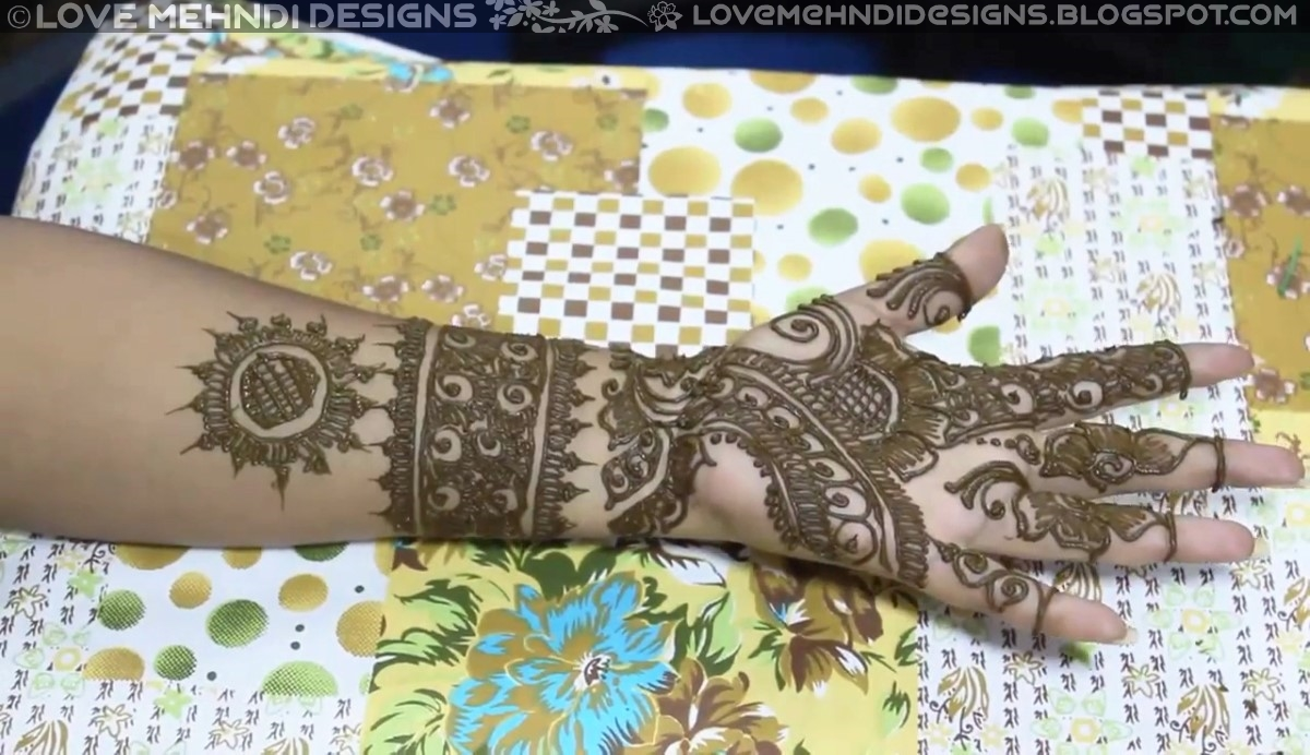 Latest Easy And Simple Beautiful Arabic Mehndi Designs For Hands