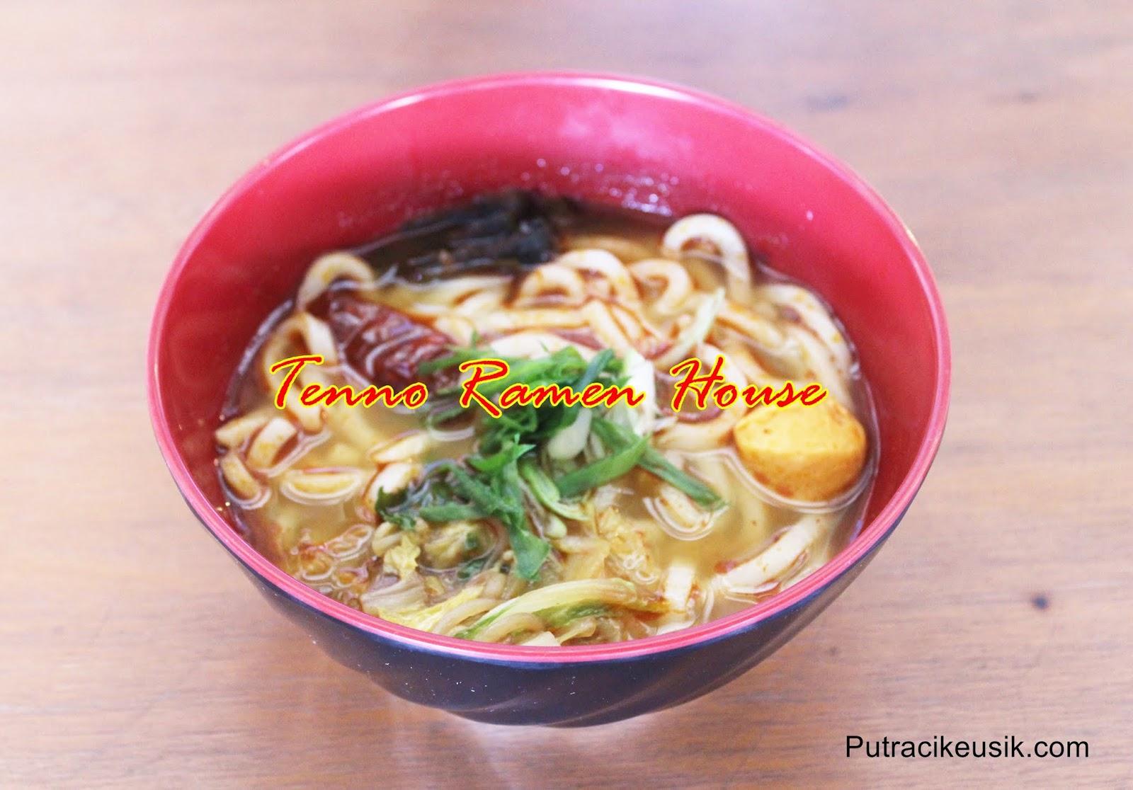 Semangkuk Kelezatan Tenno Ramen House di Paskal Food Market Bandung