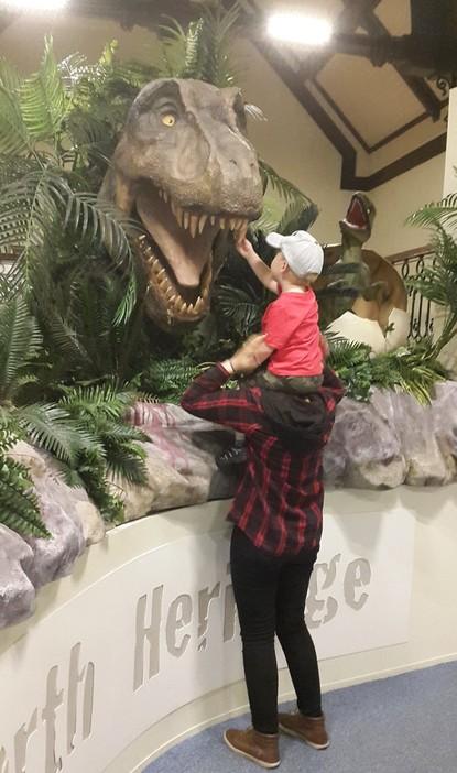 Whoopidooings: Dinosaur at Maidstone Museum