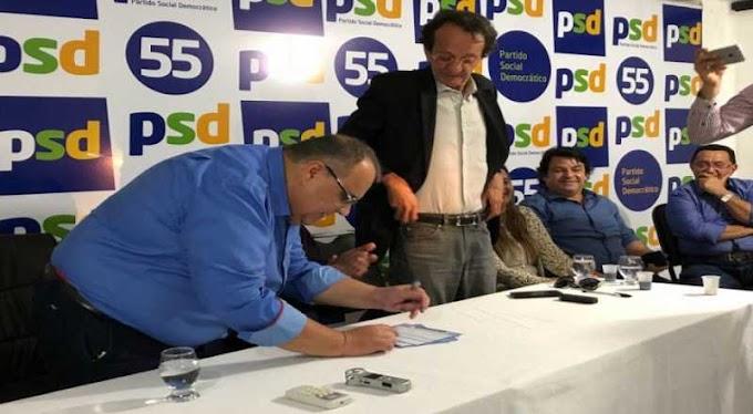 Mesmo filiado ao PSD, Inaldo Leitão avisa que vai marchar com Azevêdo