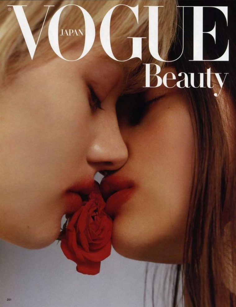 Celine Bouly & Caitie Greene by Harley Weir for Vogue Japan October 2016