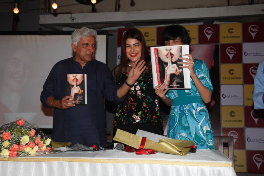 Javed Akhtar at The Book Launch Event Pics