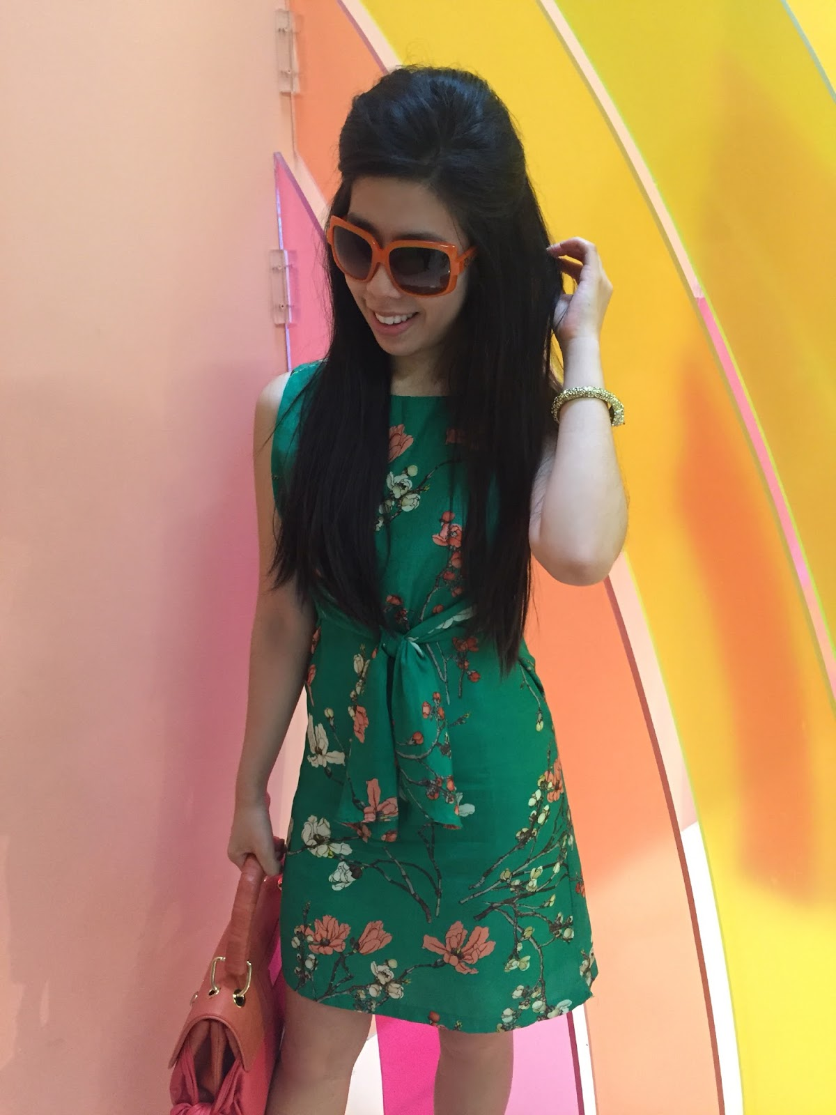 Adrienne Nguyen_Invictus_rainbow Room_Lolli Swim_Fashion Blogger_Museum of Ice Cream Los Angeles