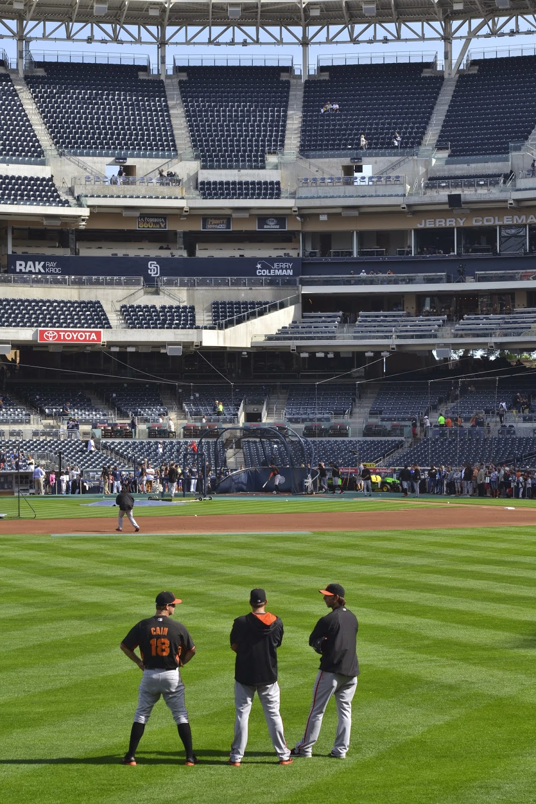 From Foothills to Fog: Giants vs  Padres @ Petco Park