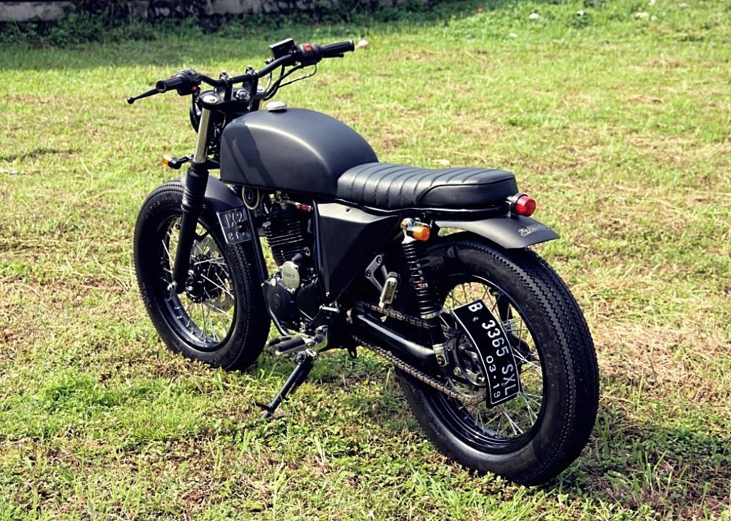 Racing Caf U00e8  Yamaha Scorpio 225 2006  U0026quot The Rascal U0026quot  By