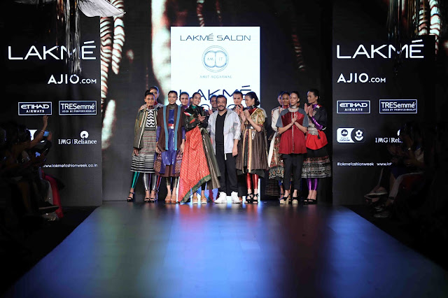 Models were spotted flaunting their CHARLES & KEITH heels while walking the runway at Amit Aggarwal's  'seamless' | Lakme Fashion Week