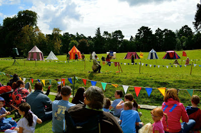 Belsay Castle Knights Tournament