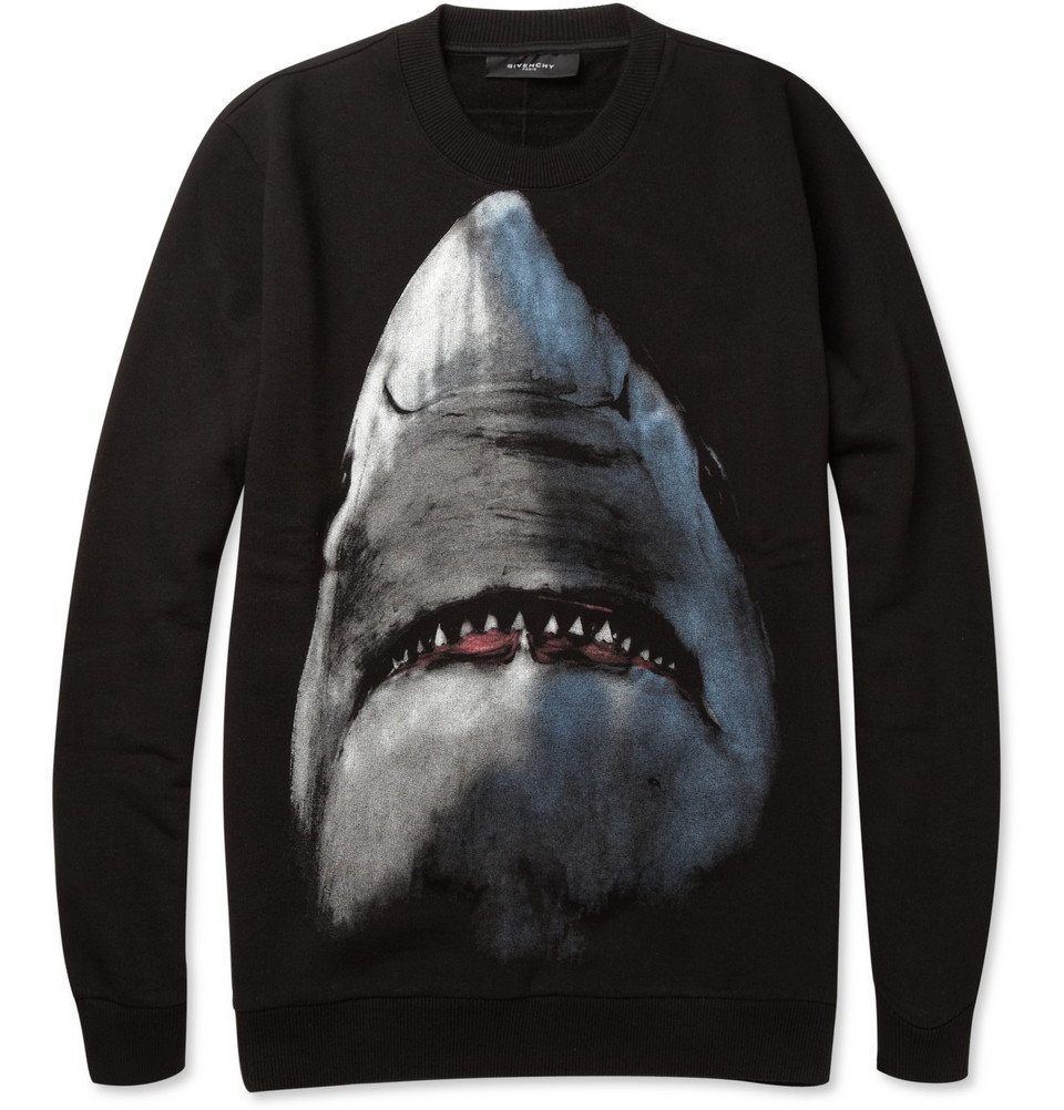b4ccb5fe63c After a few hours, I receive an email from Mr Porter regarding the  restocked Givenchy Shark-Print products. During the past hours I have been  considering ...
