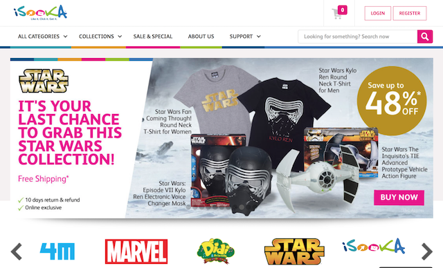 Star Wars Fans! Purchase These Collectibles From iSooka Today