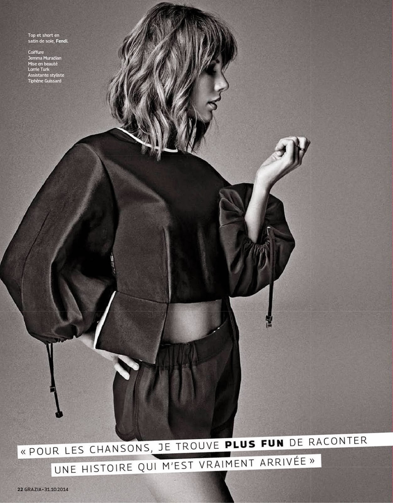 Taylor Swift -- Grazia magazine November 2014