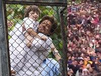 VIDEO: Astaga, Ribuan Orang Serbu Rumah Shahrukh Khan Saat Lebaran Hanya untuk Lakukan Ini!