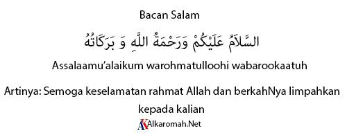 Bacaan Salam Sholat jenazah